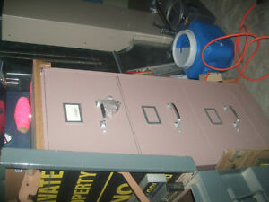 File cabinet, Vertical, 3 drawer deep, cocoa colour