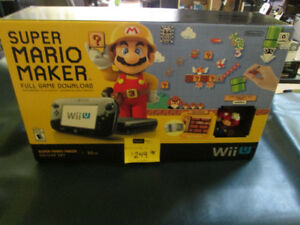 Super Mario Maker Edition Wii U For Sale At Nearly New