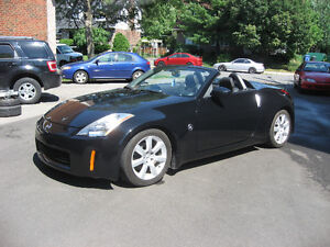 Nissan 350Z convertible fuell equipe
