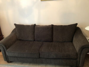 Newer Sofa bed for sale.