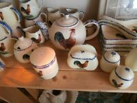 Large Collection of Rooster Dishes at KeepSakes Shoppe