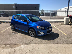 2016 Chevrolet Sonic RS TURBO HATCHBACK with only 20,000kms!!!