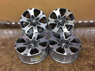 """2004-2017 Ford F150 Expedition 18"""" FX2 FX4 Factory OEM WHEELS Rims 3832 4set"""