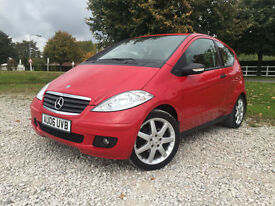 2006 Mercedes-Benz A150 Classic SE 1.5 Manual Petrol Coupe in Red