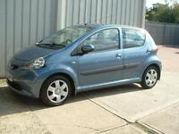 Toyota AYGO 1.0 VVT-i AYGO Blue cheap to run and insure only £20 road tax