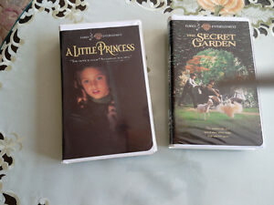 A little princess and The secret garden vhs Kitchener / Waterloo Kitchener Area image 1