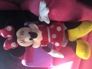Mini mouse plush from the Disney store