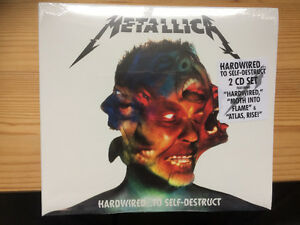 Metallica hard wired CD