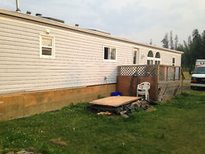Private 2 bedroom mobile home for rent