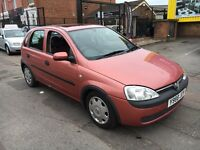Vauxhall Corsa 1.0 petrol 131k miles ex cond for year