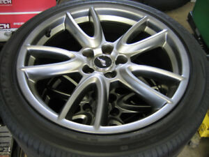 Mustang GT Track Pack wheels 19x9 w/ Eagle F1 Tires 255/40/19