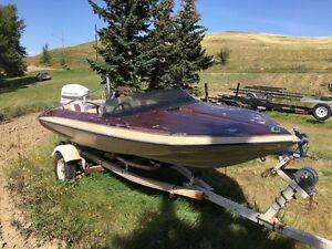 Glastron CVX-16 Ski Boat with 140 Johnson
