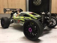 Hobao hyper 7 novarossi race tuned nitro rc car