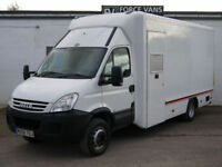 IVECO DAILY 65C18 SNAP-ON BOX WORK CAMPER SHOWROOM MOBILE SHOP DISPLAY LORRY VAN