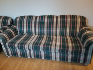 Sofa, Loveseat, and Chair