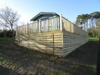 Willerby Sheraton 40ft 14ft 2 bed 2018 sited Causey Hill Holiday Park Hexham