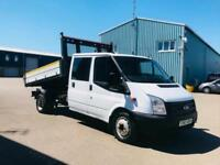 FORD TRANSIT 125 T350 'DOUBLE CAB - TIPPER' (2014) '2.1 TDCI - 125 BHP - 6 SPEED