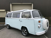 (V) 1979 Volkswagen Camper Bus T2 Motorhome Caravan Pop Top Retro SOLD SOLD