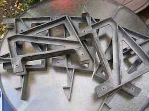 6 Bench brackets for patio deck. London Ontario image 1