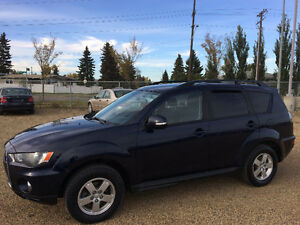 2010 MITSUBISHI OUTLANDER AWD, 7 SEATER,ONE YEAR WARRANTY INCLUD