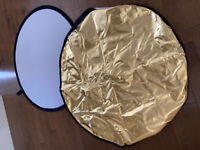 PHOTOGRAPHY REFLECTOR - $50.00
