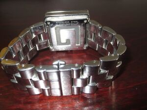 Authentic mens stainless GUCCI G watch Cambridge Kitchener Area image 5