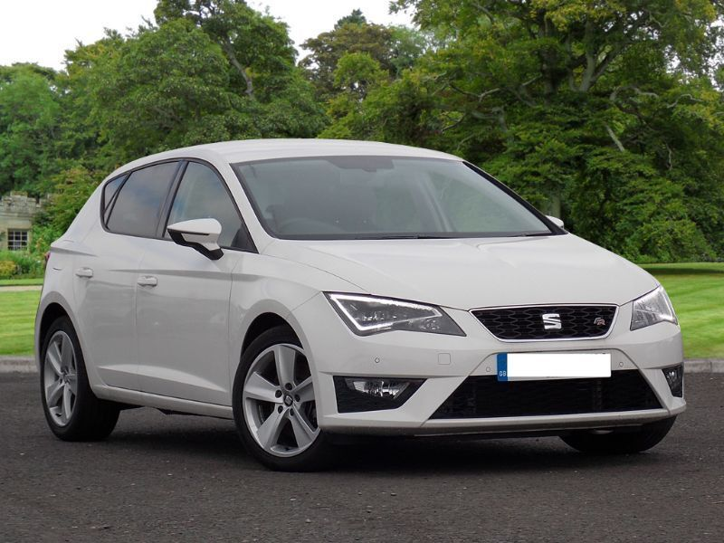 seat leon 2 0 tdi fr 184 ps nevada white 2014 in county antrim gumtree. Black Bedroom Furniture Sets. Home Design Ideas