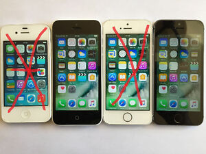 Iphone 5c 16g et iphone 5s 32g