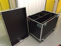 Flightcases - Excellent Condition - With Casters
