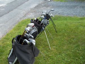 RH Golf Sets and LH Kids  and Mens Golf Shoes sz 12