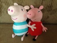 Large Peppa and George