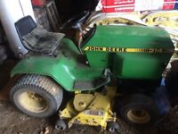 314 JD lawn tractor