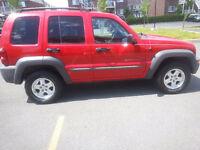 2002 Jeep Liberty sport VUS