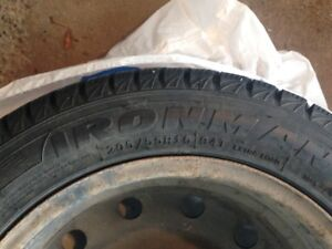 """2 NEW 16"""" Ironman Polar Trax winter tires and 4 rims for sale!"""