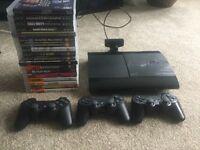 PS3 console & games bundle