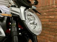 2018/18 MV Agusta Brutale 800 RR With 4276 Miles Finished In Black and White