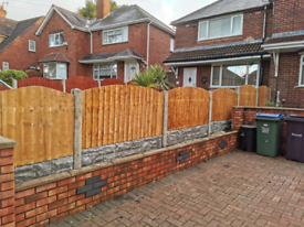 10 bays of fence supply and fit * fencing offer*