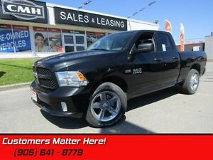 2017 Ram 1500 Express  HFE PACKAGE, 20 INCH ALLOYS, DUAL EXHAUST