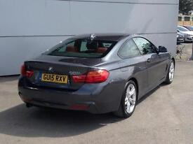 2015 BMW 4 SERIES 420i M Sport 2dr Auto [Professional Media]