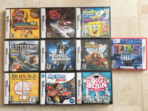 Brand New Nintendo DS Games