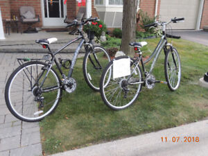 Ladies Bike, 17 inches, Nakamura, excellent condition.