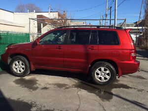 2002 Toyota Highlander Limited VUS Full equipped