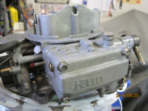 REBUILT HOLLEY 600 CFM CARB #80457-2