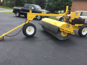 MB Tow Behind Sweeper