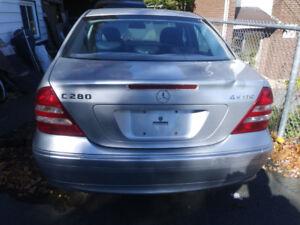2007 Mercedes Benz C280 4matic $1800 firm