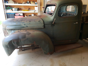 WANTED PARTS FOR 1945 international k,k1 half ton truck
