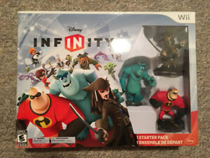 Disney Infinity for Wii with a Bunch of Characters