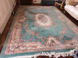 fabulous big aubusson chinese rug 12'x9'