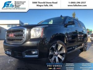 "2016 GMC Yukon SLT  SUNROOF,LEATHER,HEAT&COOL SEATS,22""ALLOYS"