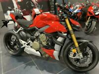 Ducati V4S Streetfighter Red 2021 Model - JUST ARRIVED IN STOCK, ONE ONLY!!